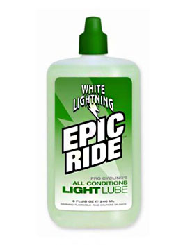 WHITE LIGHTNING EPIC RIDE 윤활유 (240ml)